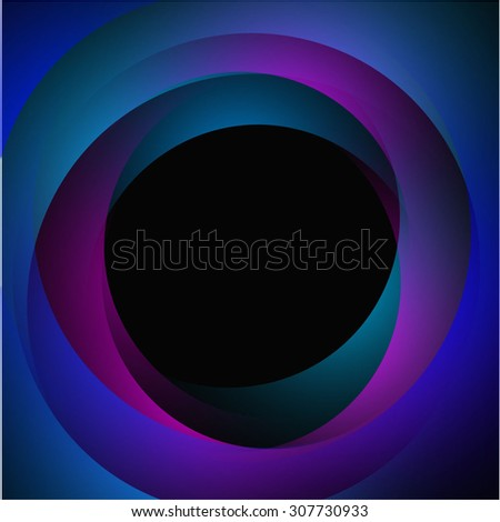 background for posters and postcards with the terms and shadows, purple, pink, green - stock vector