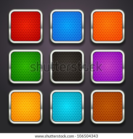 background for the app icons-part 5 - stock vector