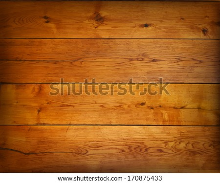 Background from oak boards. Vector illustartion. - stock vector