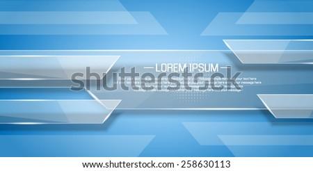 BACKGROUND GLASS MODERN - stock vector