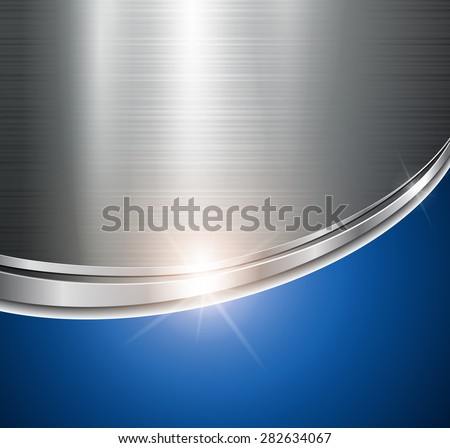Background metallic shiny and glossy. - stock vector