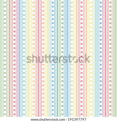 Background of dots pattern - stock vector