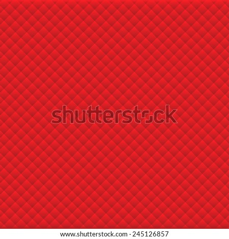 Background of red rhombus pattern vector eps10 - stock vector