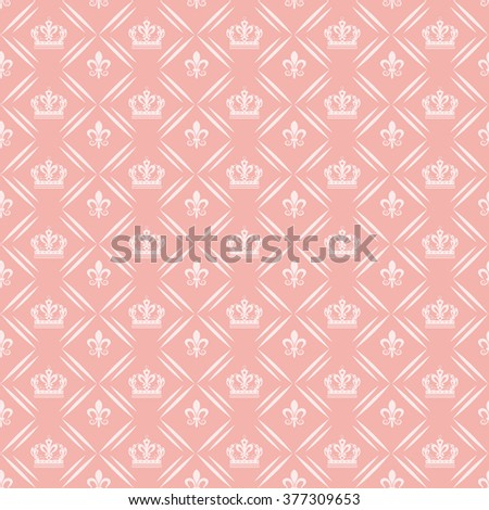 background pattern, vintage style, graphic design, vintage pattern, pink - stock vector
