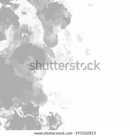 background smoke - stock vector