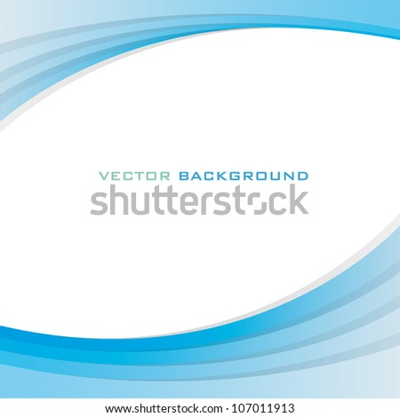 Background texture with blue and cool elements. Vector design. - stock vector