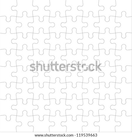 Background Vector Illustration jigsaw puzzle - stock vector