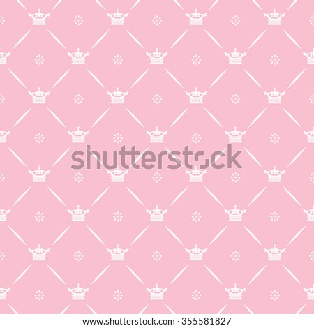 Background, Vector Pattern Template, Seamless Pattern, Pink, Pattern Background - stock vector
