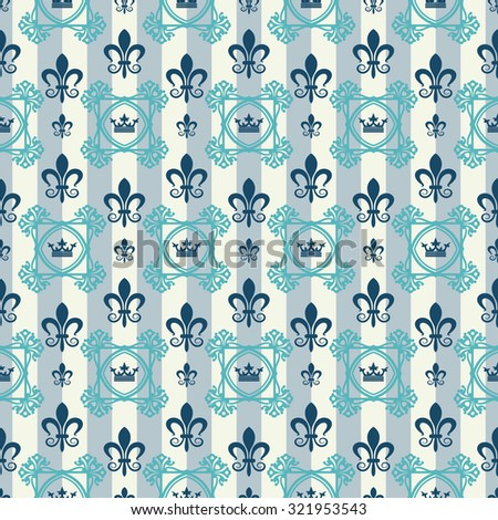 Background Wallpaper / Vintage / Seamless Pattern / Pattern Background / Design Pattern / Vintage Pattern / Floral Pattern / Pattern Wallpaper / Retro Pattern / Pattern Texture / Vector image - stock vector