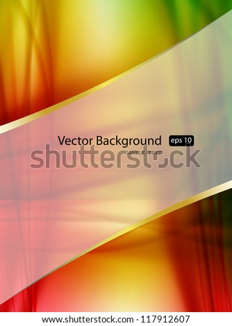 Background with color pattern - stock vector