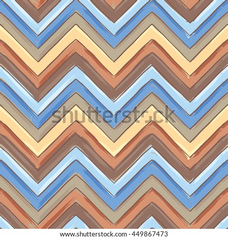 Background with geometric ornament/Color seamless pattern in the style of Boho - stock vector