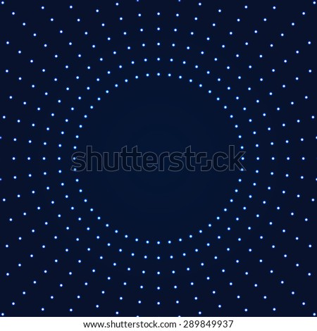 Background with light effect.Glowing circles.Modern colorful blue wallpaper. - stock vector