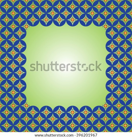 Backgrounds with antique Byzantine ornament. Background for presentation, flyer or brochure. Greeting Card Abstract Background geometric pattern. Vector illustration.  - stock vector