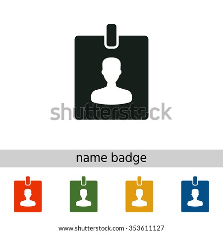 Badge icon - stock vector