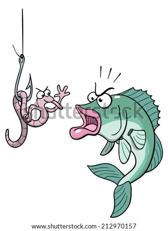 Bait - stock vector