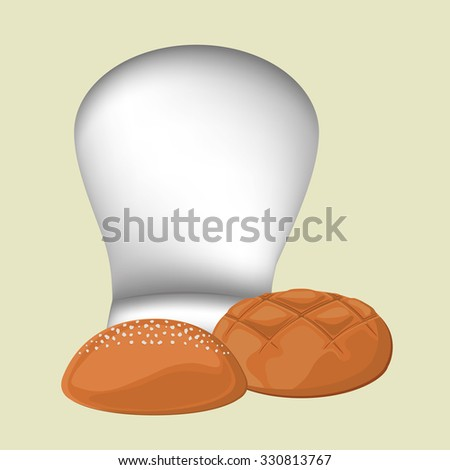 bakery products design, vector illustration eps10 graphic  - stock vector