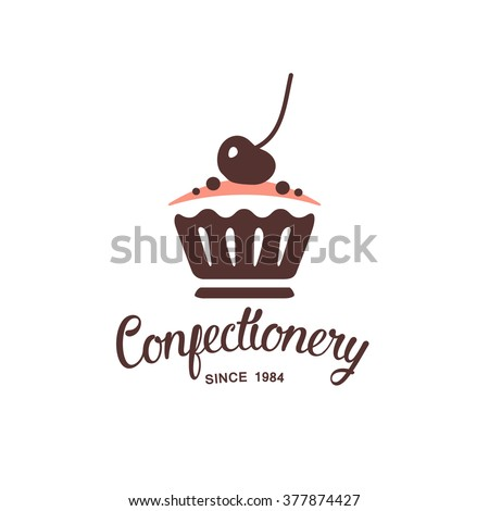 baking logo design - stock vector