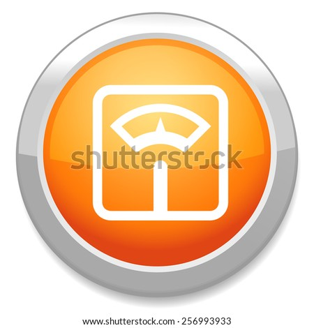 Balance fitness icon - stock vector