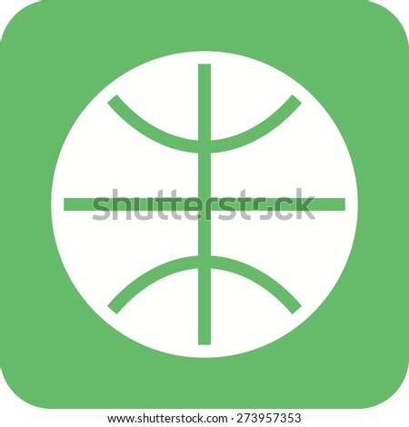 Ball, basket ball, hoop, match, sports icon vector image. Can also be used for fitness, recreation. Suitable for web apps, mobile apps and print media. - stock vector