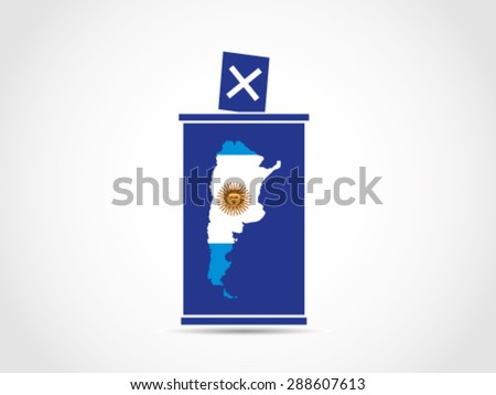 Stock Images Similar To ID Hand Voting In Afghan - Argentina election map