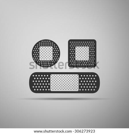 Bandage plaster icon, bandage plaster icon eps, bandage plaster icon vector, bandage plaster web icon, plaster design icon, bandage plaster flat icon, plaster icon art, bandage plaster icon object - stock vector