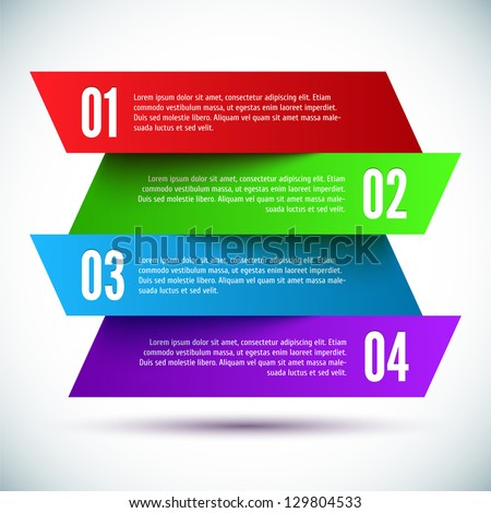 Banner Design template - stock vector