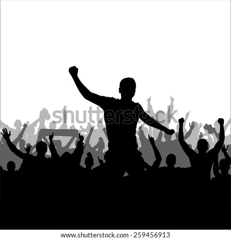 Banner for sporting event and concert  - stock vector