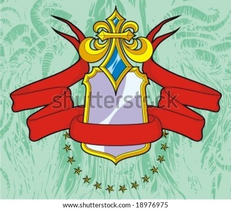 banner heralds - stock vector