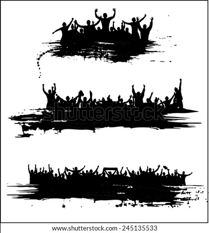 Banners for sports championships and concerts. - stock vector