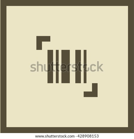 bar code isolated minimal single flat icon. Shopping line vector icon for websites and mobile minimalistic flat design. - stock vector