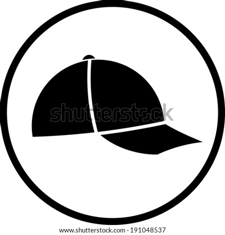 baseball hat icon stock photos images pictures