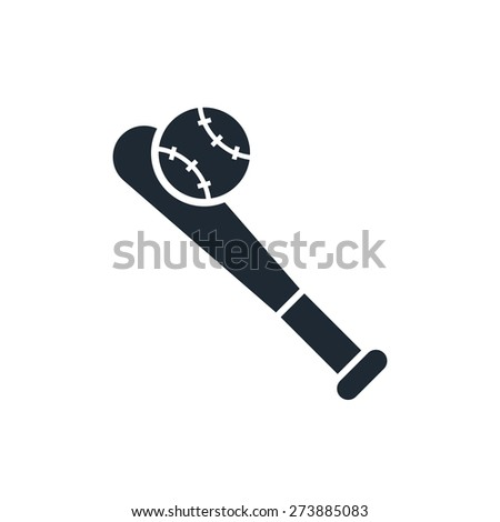 Baseball Icon - stock vector