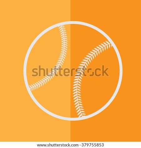 Baseball Icon - stock vector
