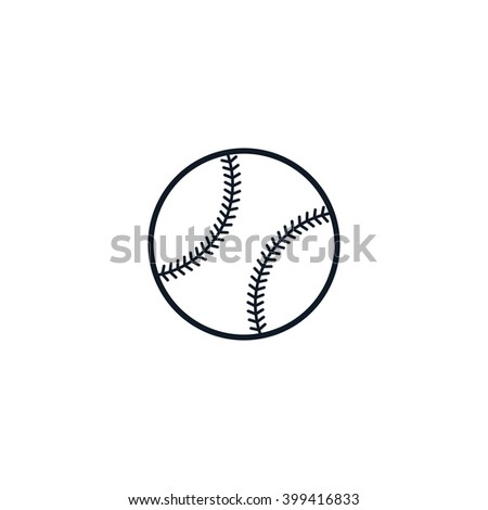 baseball theme - stock vector