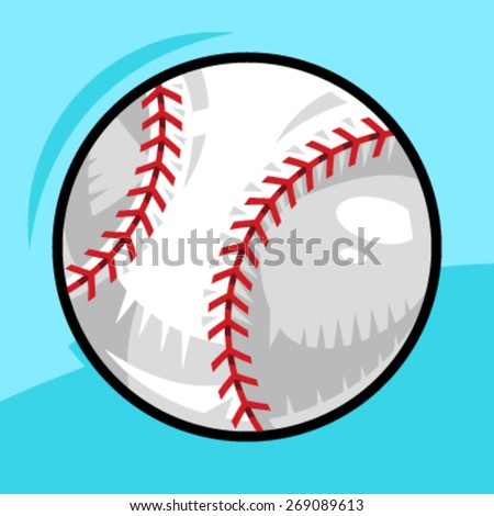 Baseball Vector Icon - stock vector