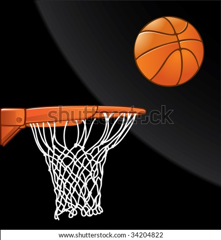 Basketball - stock vector