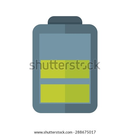 Battery, energy, charging icon vector image. Can also be used for energy and technology. Suitable for web apps, mobile apps and print media. - stock vector