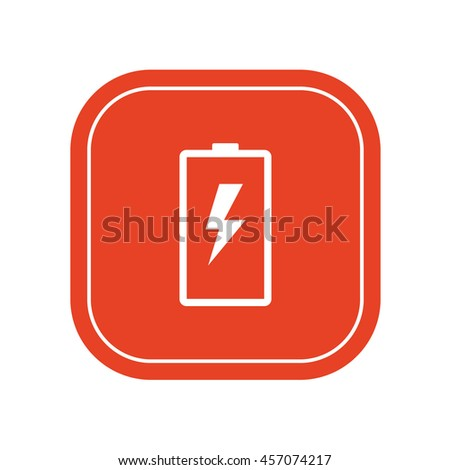 Battery iconvector illustration - stock vector