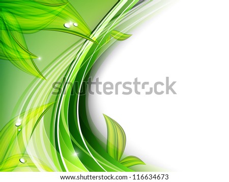 beautiful abstract floral vector background. Eps10 - stock vector