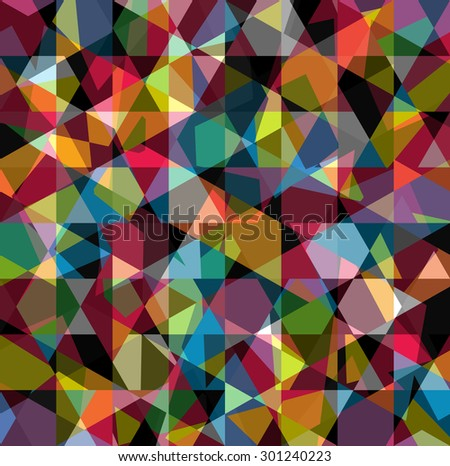 Beautiful abstract pattern. Geometric backdrop. Gem polygonal crystal texture. Amber abstract. - stock vector