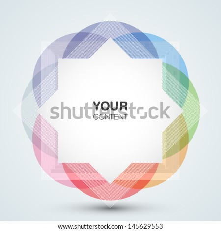 Beautiful abstract vector background eps10 - stock vector