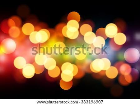 beautiful blurred background on dark - stock vector