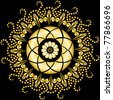 beautiful circular pattern for your design - stock vector