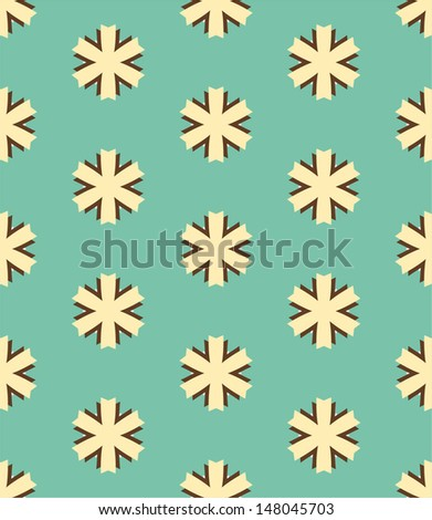 beautiful decorative seamless pattern ,geometric background - stock vector