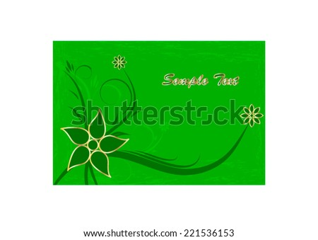 beautiful floral background    - stock vector