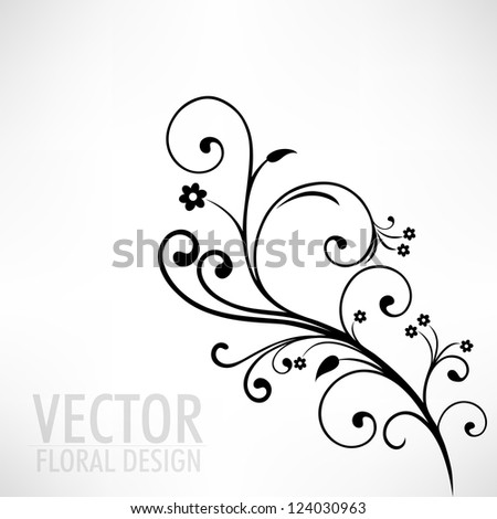 Beautiful floral background. EPS 10. - stock vector