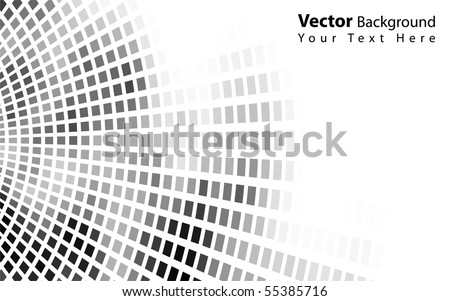 Beautiful vector black/white background - stock vector