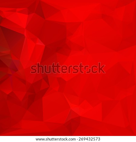 Beauty and fashion concept, abstract triangular background with polygonal abstract shapes - stock vector