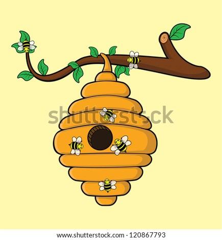 bee - stock vector
