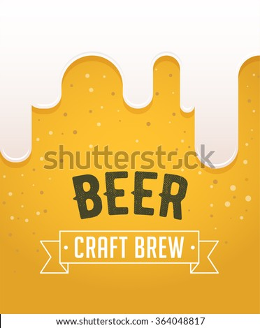 Beer festival in the city, event poster - stock vector